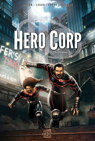 Couverture Hero corp tome 2 - chroniques