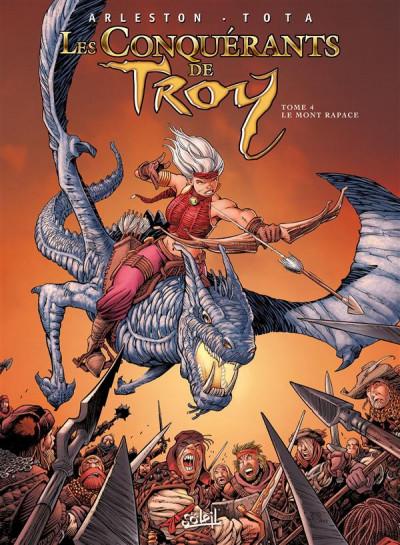 Couverture Les Conquérants de Troy tome 4