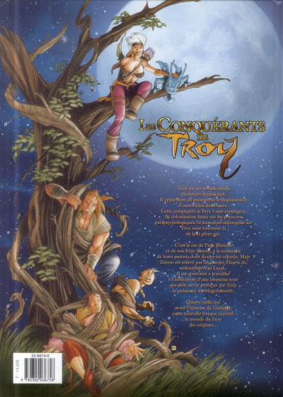Dos Les Conquérants de Troy tome 4