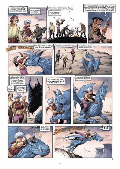 Page 5 Les Conquérants de Troy tome 4