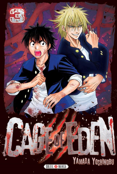Couverture cage of eden tome 3