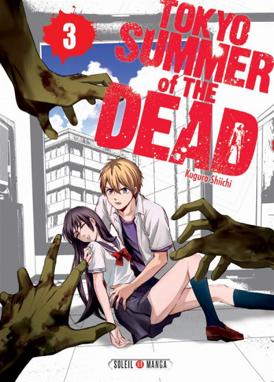 Couverture Tokyo - summer of the dead tome 3