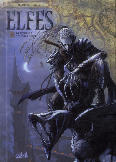Couverture Elfes tome 5
