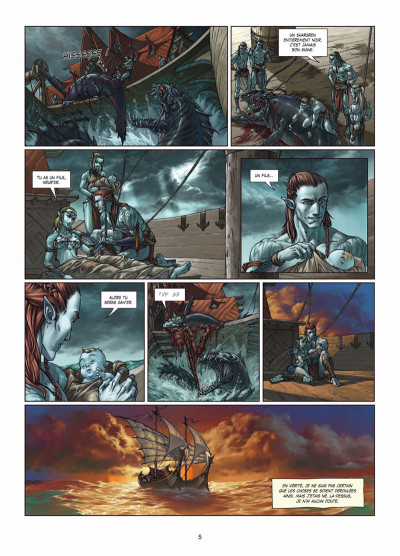 Page 3 Elfes tome 5