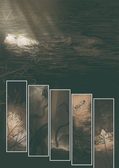 Page 1 L'ombre blanche tome 2