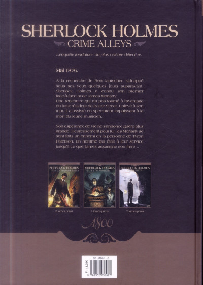 Dos Sherlock Holmes - Crime Alleys Tome 2 - Vocations forcées