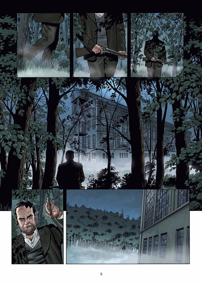 Page 4 Sherlock Holmes - Crime Alleys Tome 2 - Vocations forcées