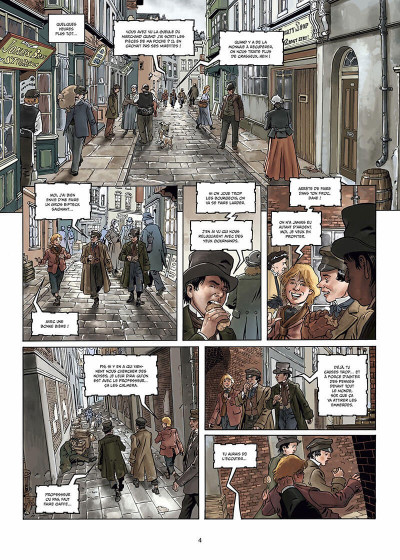 Page 5 Sherlock Holmes - Crime Alleys Tome 2 - Vocations forcées