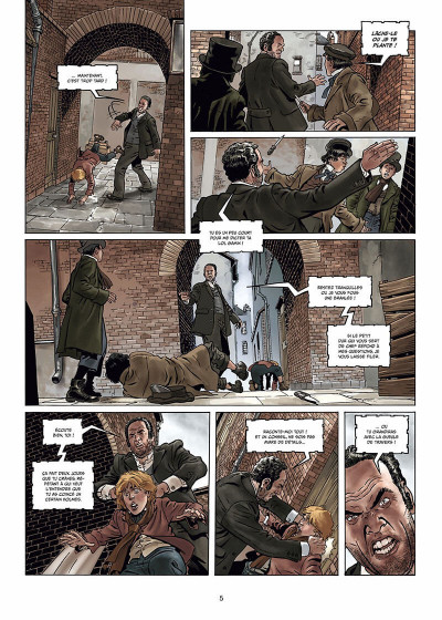 Page 6 Sherlock Holmes - Crime Alleys Tome 2 - Vocations forcées