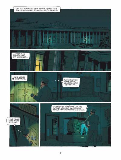 Page 1 Harry Dickson Tome 11 - Le Semeur d'angoisse (nouvelle édition)