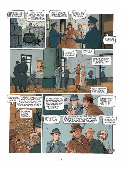 Page 4 Harry Dickson Tome 11 - Le Semeur d'angoisse (nouvelle édition)