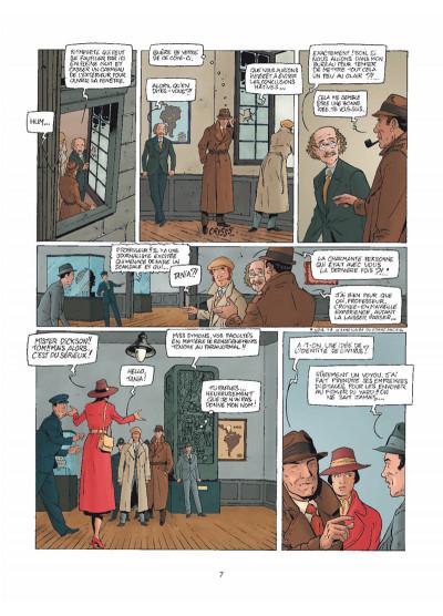 Page 5 Harry Dickson Tome 11 - Le Semeur d'angoisse (nouvelle édition)