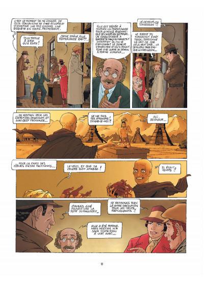 Page 6 Harry Dickson Tome 11 - Le Semeur d'angoisse (nouvelle édition)