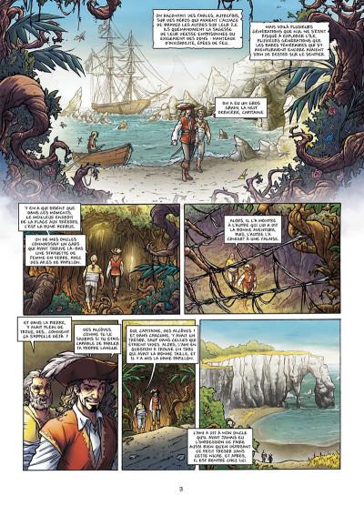 Page 1 Les Aventuriers de la mer tome 2 - Les Chemins de la liberté