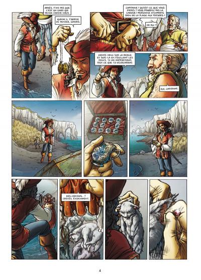 Page 2 Les Aventuriers de la mer tome 2 - Les Chemins de la liberté