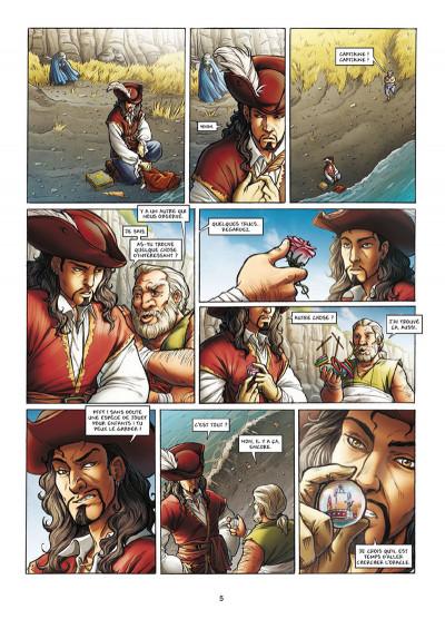 Page 3 Les Aventuriers de la mer tome 2 - Les Chemins de la liberté