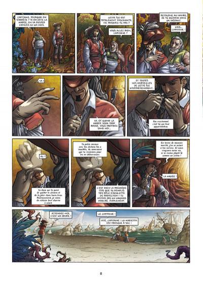 Page 6 Les Aventuriers de la mer tome 2 - Les Chemins de la liberté