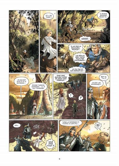 Page 4 Le crépuscule des dieux tome 8