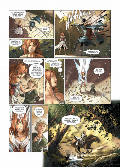 Page 6 Le crépuscule des dieux tome 8