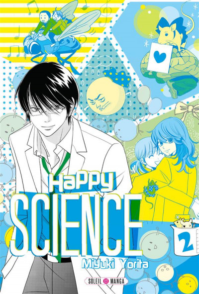 Couverture Happy science tome 2