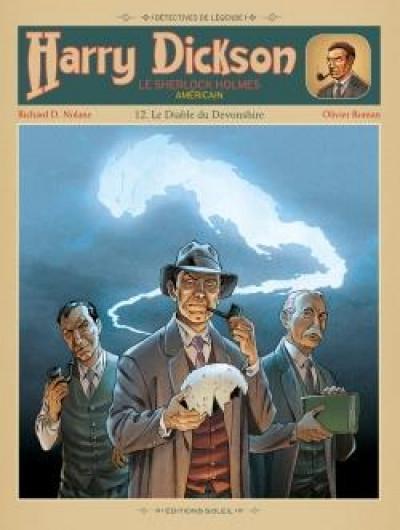 Couverture Harry Dickson Tome 12 - Le Diable du Devonshire (nouvelle édition)