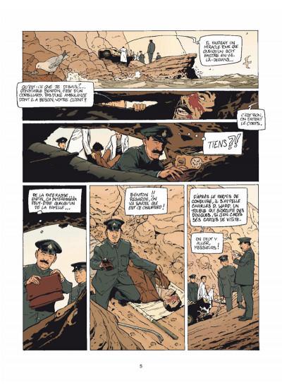 Page 3 Harry Dickson Tome 12 - Le Diable du Devonshire (nouvelle édition)