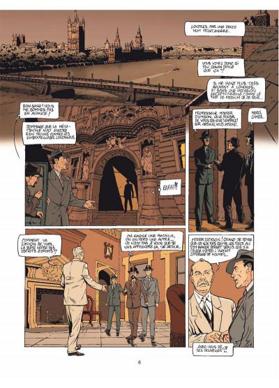 Page 4 Harry Dickson Tome 12 - Le Diable du Devonshire (nouvelle édition)