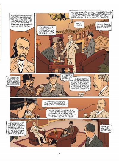 Page 5 Harry Dickson Tome 12 - Le Diable du Devonshire (nouvelle édition)