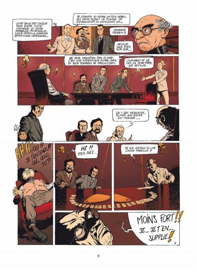 Page 6 Harry Dickson Tome 12 - Le Diable du Devonshire (nouvelle édition)