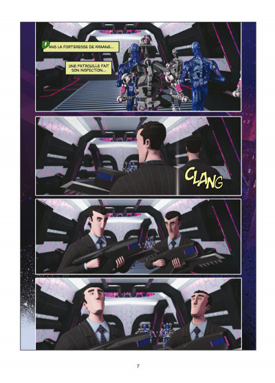 Page 5 TMNT - Les Tortues Ninja Tome 3 - Robots et cerveaux