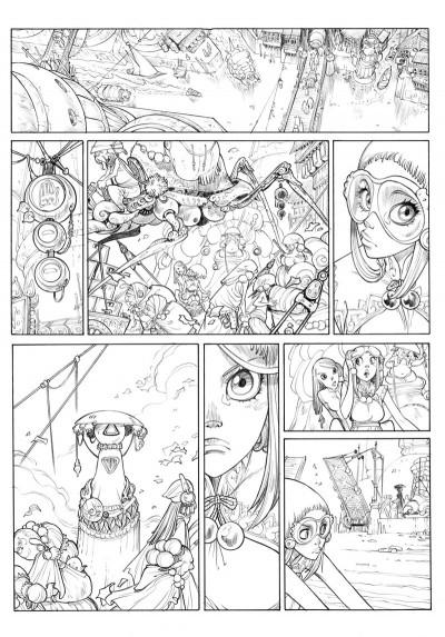 Page 1 Sky doll Tome 4 - Sudra (Éd. N&B)
