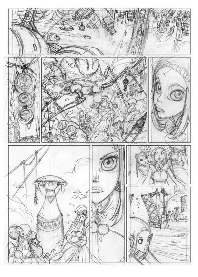 Page 2 Sky doll Tome 4 - Sudra (Éd. N&B)