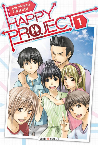 Couverture Happy Project Tome 1