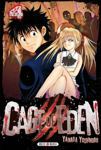 Couverture Cage of Eden Tome 4