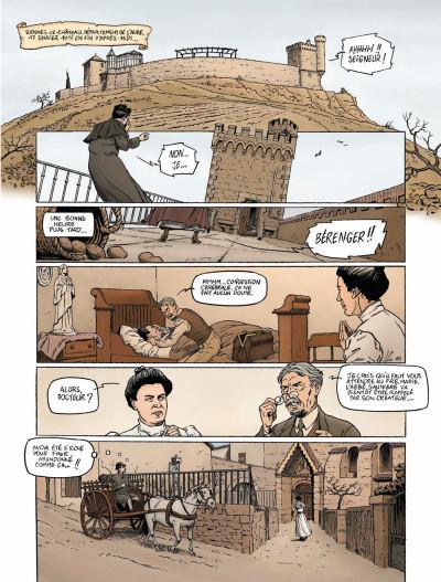 Page 1 Harry Dickson Tome 13 - L'Héritage maudit de Rennes-le-Château