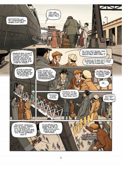 Page 4 Harry Dickson Tome 13 - L'Héritage maudit de Rennes-le-Château
