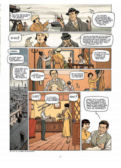Page 5 Harry Dickson Tome 13 - L'Héritage maudit de Rennes-le-Château