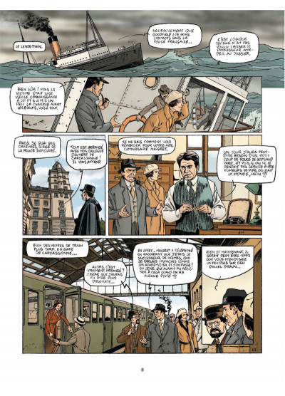 Page 6 Harry Dickson Tome 13 - L'Héritage maudit de Rennes-le-Château