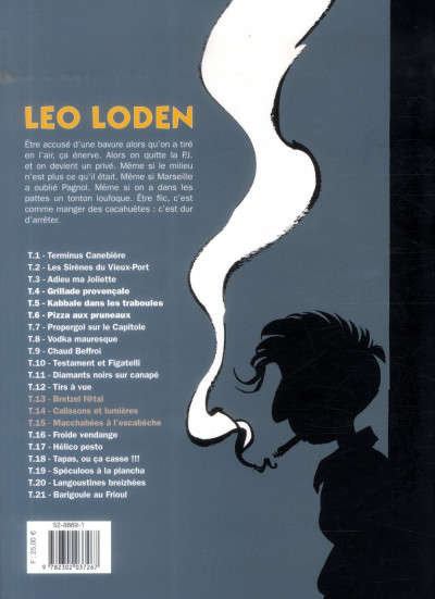 Dos Léo Loden - intégrale tome 5
