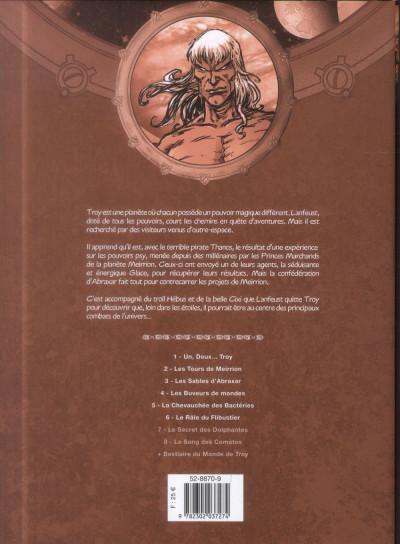 Dos Lanfeust des Étoiles - Intégrale Tome 7 + Tome 8 + Bestiaire