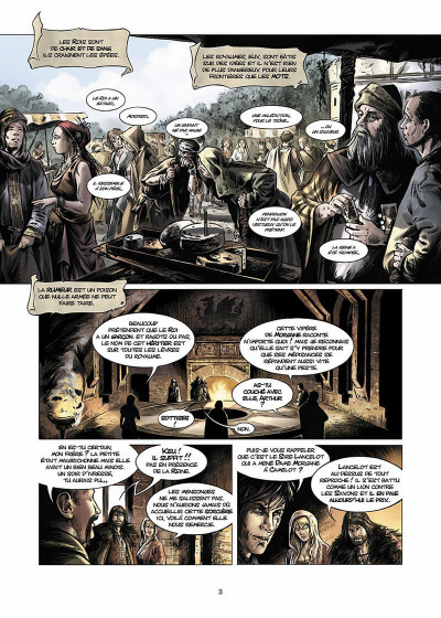 Page 4 Lancelot Tome 4 - Arthur