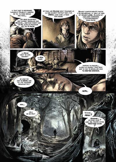 Page 5 Lancelot Tome 4 - Arthur