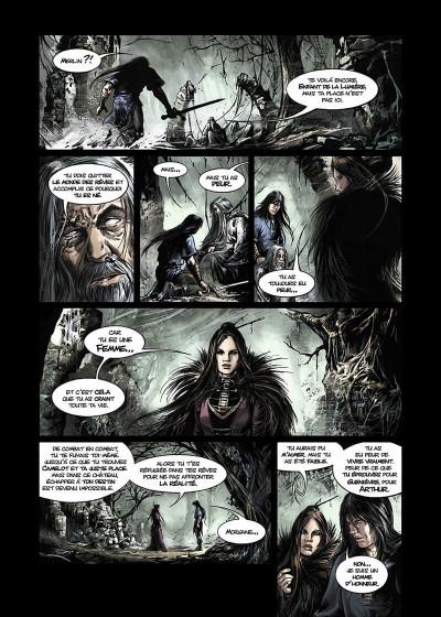 Page 6 Lancelot Tome 4 - Arthur