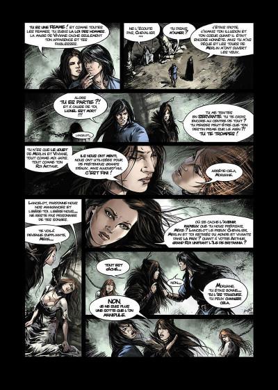 Page 7 Lancelot Tome 4 - Arthur