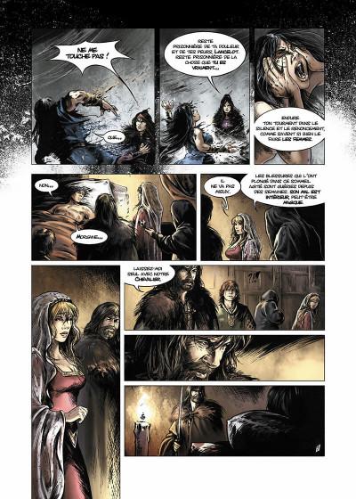 Page 8 Lancelot Tome 4 - Arthur