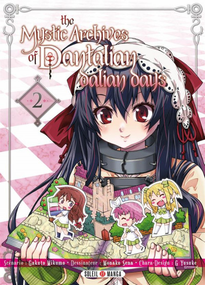 Couverture The Mystic Archives of Dantalian - Dalian Days Tome 2