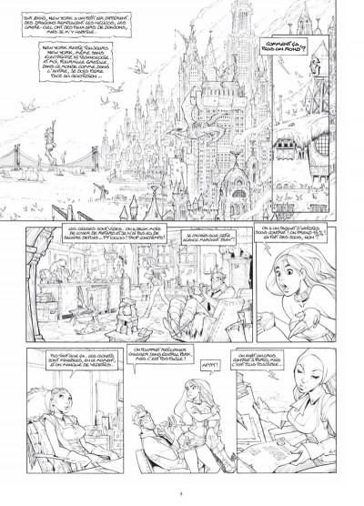 Page 2 Ekhö monde miroir tome 2 - Édition luxe noir et blanc
