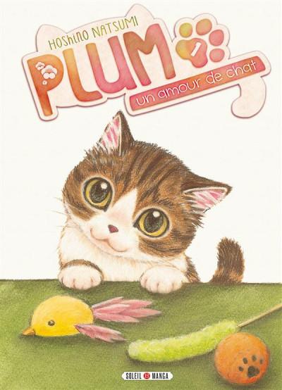 Couverture Plum, un amour de chat tome 1