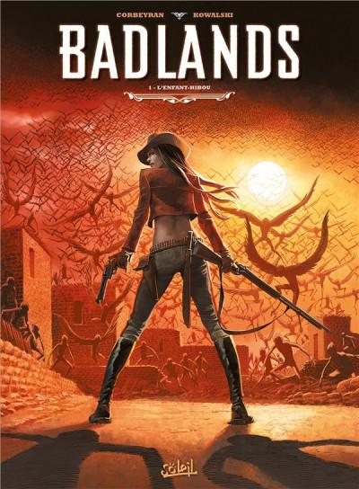 Couverture Badlands Tome 1 - L'Enfant-hibou