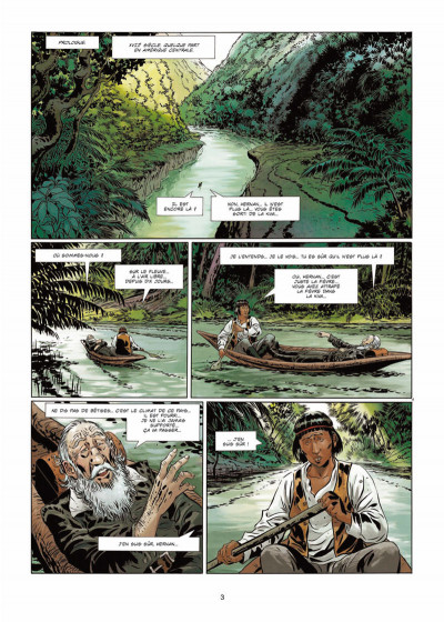 Page 1 Badlands Tome 1 - L'Enfant-hibou